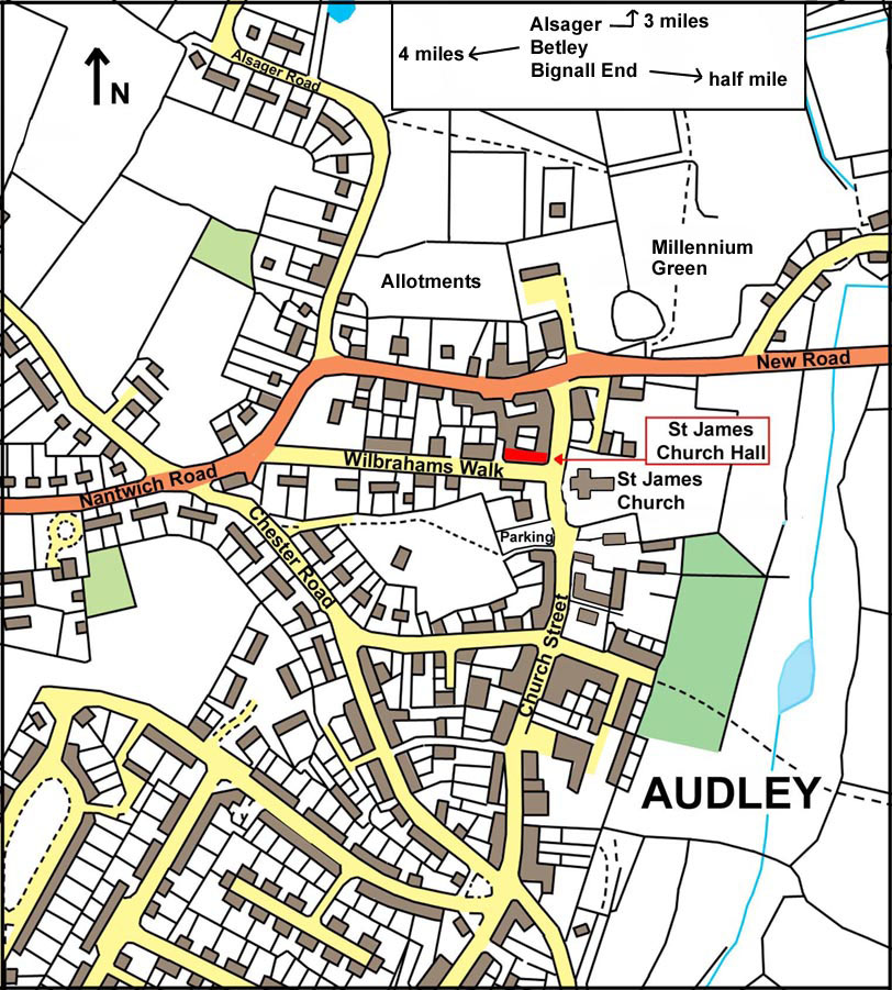 Audley Map